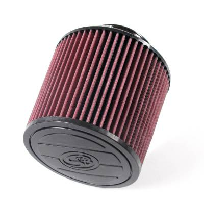 S&B Filters - S&B Filters Replacement Filter for S&B Cold Air Intake Kit (Cleanable, 8-ply Cotton) KF-1055