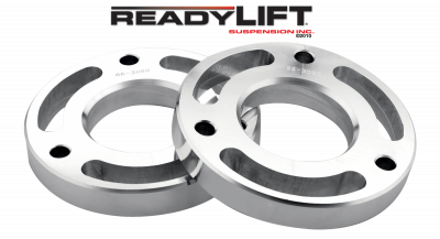 ReadyLift - ReadyLift 1.5in. FRONT STRUT SPACER BILLET ALUMINUM LEVELING KIT 66-3080