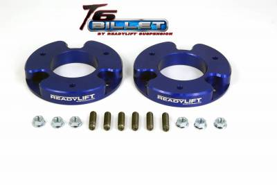 ReadyLift - ReadyLift 1.5in. T6 BILLET ALUMINUM LEVELING KIT ANODIZED, BLUE IN COLOR T6-4010-B