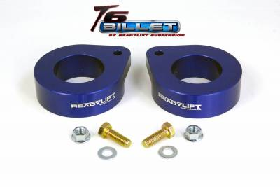 ReadyLift - ReadyLift 1.5in. T6 BILLET ALUMINUM LEVELING KIT ANODIZED, BLUE IN COLOR T6-6091-B