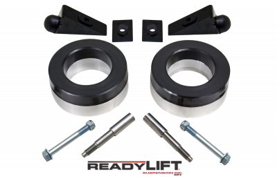 ReadyLift - ReadyLift 1.75in. FRONT POLYURETHANE/STEEL COIL SPACER KIT WITH SHOCK EXTENSIONS 66-1035