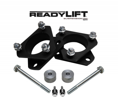 ReadyLift - ReadyLift 2.0in. FRONT STRUT SPACER LEVELING KIT WITH DIFF DROP SPACER 66-5050