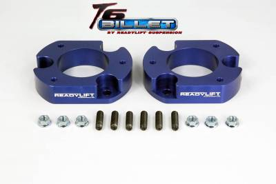 ReadyLift - ReadyLift 2.0in. T6 BILLET ALUMINUM LEVELING KIT ANODIZED, BLUE IN COLOR T6-2059-B
