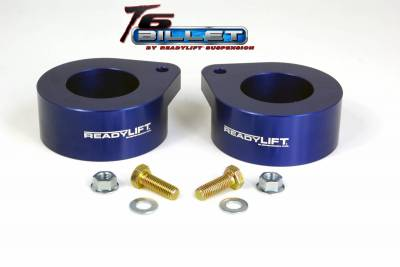 ReadyLift - ReadyLift 2.0in. T6 BILLET ALUMINUM LEVELING KIT ANODIZED, BLUE IN COLOR T6-6092-B
