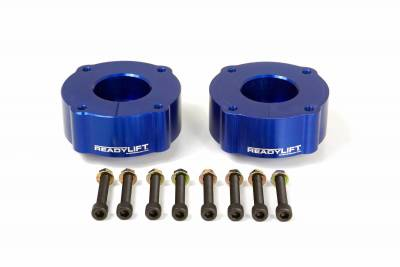ReadyLift - ReadyLift 2.4in. T6 BILLET ALUMINUM LEVELING KIT ANODIZED, BLUE IN COLOR T6-5075-B