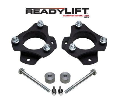 ReadyLift - ReadyLift 2.5in. FRONT STRUT SPACER LEVELING KIT WITH DIFF DROP SPACER 66-5025