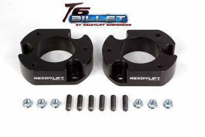 ReadyLift - ReadyLift 2.5in. T6 BILLET ALUMINUM LEVELING KIT ANODIZED BLACK IN COLOR T6-2058-K