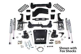 "BDS Suspension - BDS 4-1/2"" Suspension Lift Kit 