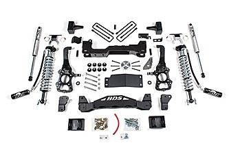 "BDS Suspension - BDS 4"" Coil Over Suspension Lift Kit System for 2015-16 Ford F150 4WD pickup trucks."
