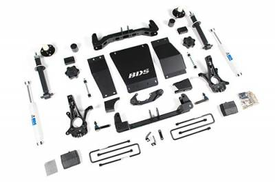 "BDS Suspension - BDS - 6"" Suspension Lift for the new 2014-18 Chevy/GMC 1500 4wd - W/O Magneride"