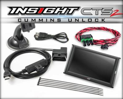 Edge Products - Edge Products - Insight CTS2 - 13-17 Cummins W/Unlock Cable