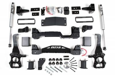 """BDS Suspension - BDS 6"""" Suspension System 