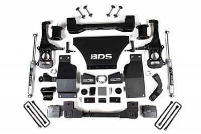 "BDS Suspension - BDS - 6"" Suspension Lift Kit for 2019-2020 Chevrolet/GMC 4WD 1500 Series Silverado/Sierra 1/2 Ton Pickup W/O Magneride"