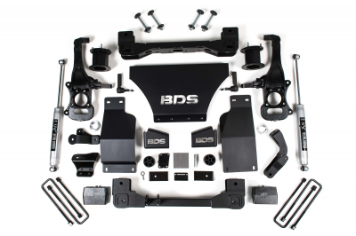 """BDS Suspension - BDS - 4"""" Suspension Lift Kit - 19-20 Chevy/GMC 4WD W/Out Adaptive Ride Control"""