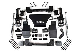 "BDS Suspension - BDS - 4"" Suspension Lift Kit - 19-20 GMC 4WD AT4/Trail Boss"