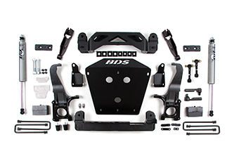 "BDS Suspension - BDS - 4.5"" Suspension - 2016-2018 Toyota Tundra 4WD"