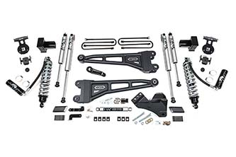 """BDS Suspension - BDS - 4"""" Coil-Over Radius Arm Suspension System for 2020 Ford F-250/F-350 Super Duty 4WD Trucks"""