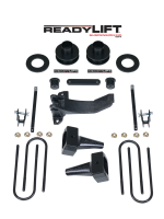 Suspension - Lift Kits - ReadyLift - ReadyLift SST LIFT KIT 2.5in. FRONT 1.0-3.0in. REAR TOW PACKAGE MODEL 69-2515TP