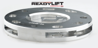 ReadyLift - ReadyLift 1.0in.-1.5in. ADJUSTABLE FRONT STRUT SPACER BILLET ALUMINUM LEVELING KIT 66-3090