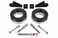 Suspension - Leveling Kits - ReadyLift - ReadyLift 1.75in. FRONT POLYURETHANE/STEEL COIL SPACER KIT WITH SHOCK EXTENSIONS 66-1035