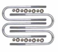 Components - Leaf Springs & Accessories - ICON Vehicle Dynamics - ICON Vehicle Dynamics 15 Inch Long Rear U-bolt Kit (Non Dually) 37003