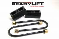 Components - Leaf Springs & Accessories - ReadyLift - ReadyLift 2.0in. REAR OEM STYLE LIFT BLOCK KIT 66-1102