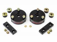 Suspension - Leveling Kits - ReadyLift - ReadyLift 2.0in. T6 BILLET ALUMINUM LEVELING KIT ANODIZED, BLACK IN COLOR T6-3072-K