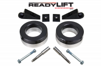Suspension - Leveling Kits - ReadyLift - ReadyLift 2.25in. FRONT POLY/STEEL COIL SPACER KIT WITH SHOCK AND BUMP STOP EXTENSIONS 66-1055