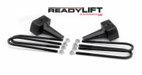 Components - Leaf Springs & Accessories - ReadyLift - ReadyLift 4.0in. TALL OEM STYLE REAR LIFT BLOCK KIT 66-2094