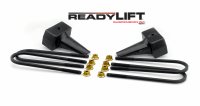 Components - Leaf Springs & Accessories - ReadyLift - ReadyLift 4in. TALL OEM STYLE REAR LIFT BLOCKS WITH BUMP STOP LANDING 66-2014