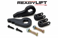 Suspension - Leveling Kits - ReadyLift - ReadyLift 2.5in. FORGED TORSION KEY FRONT LEVELING KIT WITH SHOCK EXTENSIONS 66-3000