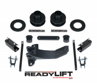 Suspension - Leveling Kits - ReadyLift - ReadyLift 2.5in. FRONT COIL SPACER LEVELING KIT WITH TRACK BAR RELOCATION BRACKET 66-2511