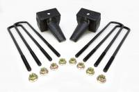 Components - Leaf Springs & Accessories - ReadyLift - ReadyLift 5in. REAR LIFT BLOCKS WITH BUMP STOP LANDING FOR DUAL REAR WHEEL VEHICLES 66-2025