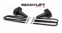 Components - Leaf Springs & Accessories - ReadyLift - ReadyLift 5in. TALL OEM STYLE REAR LIFT BLOCKS WITH BUMP STOP LANDING 66-2015