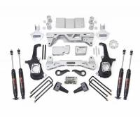 ReadyLift - ReadyLift LIFT KIT - 4WD ONLY 7-8in. FRONT 5in. REAR LIFT KIT W/SHOCKS 44-3051