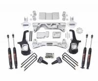 ReadyLift - ReadyLift LIFT KIT -4WD ONLY 5-6in. FRONT 4in. REAR LIFT KIT W/ SHOCKS 44-3050