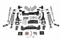 """BDS Suspension - BDS 4"""" Coil Over Suspension Lift Kit System for 2015-16 Ford F150 4WD pickup trucks."""