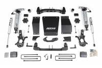 "Suspension - Lift Kits - BDS Suspension - BDS - 6"" Coil-Over Suspension Lift Kit for 2014-18 Chevrolet/GMC 4WD 1500 Series Silverado/Serria 1/2 ton pickup W/O Magneride"