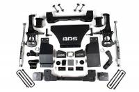 "Suspension - Lift Kits - BDS Suspension - BDS - 6"" Suspension Lift Kit for 2019-2020 Chevrolet/GMC 4WD 1500 Series Silverado/Sierra 1/2 Ton Pickup W/O Magneride"