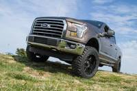 "BDS Suspension - BDS 4"" Coil Over Suspension Lift Kit System for 2015-16 Ford F150 4WD pickup trucks. - Image 2"