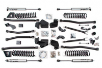 "Suspension - Lift Kits - BDS Suspension - BDS - 6-1/2"" Long Arm Lift Kit - Jeep Wrangler JK 4dr 2007-2018"
