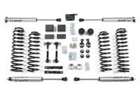 "Suspension - Lift Kits - BDS Suspension - BDS - 3"" Suspension Lift Kit - Jeep Wrangler JK 4dr 2012-2018"