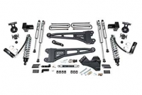 "BDS Suspension - BDS - 4"" Coil-Over Radius Arm Suspension System for 2020 Ford F-250/F-350 Super Duty 4WD Trucks"